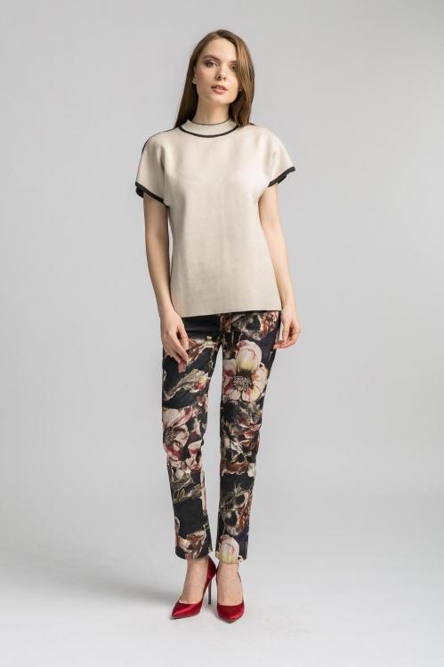 Pantalon cu imprimeu 3003BH