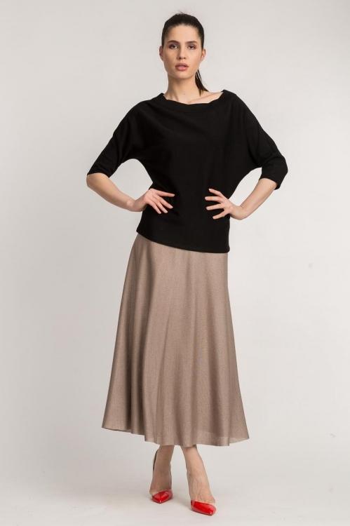 Bluza neagra tricot 6090