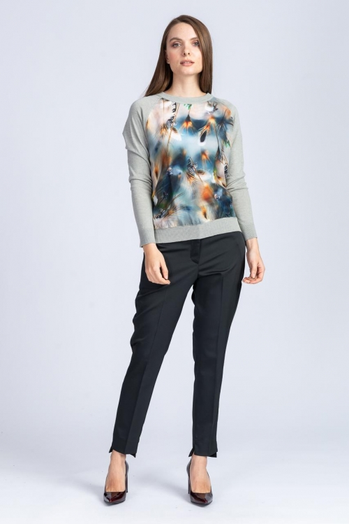 Bluza cu imprimeu 6462S