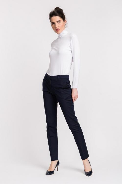 Pantaloni office bleumarin 3003F