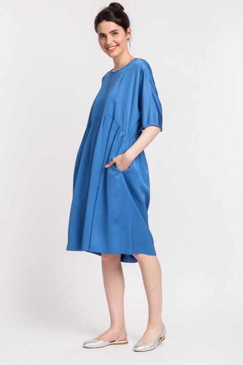 Rochie lejera bleu 5732WT