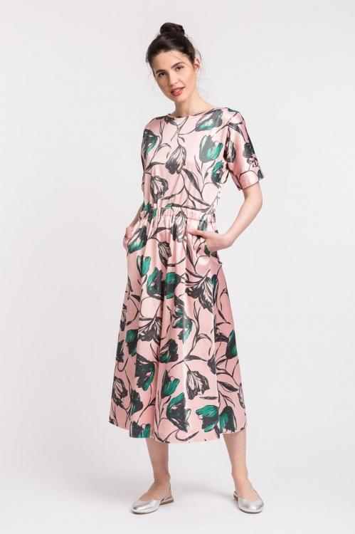 Rochie cu imprimeu floral 6142