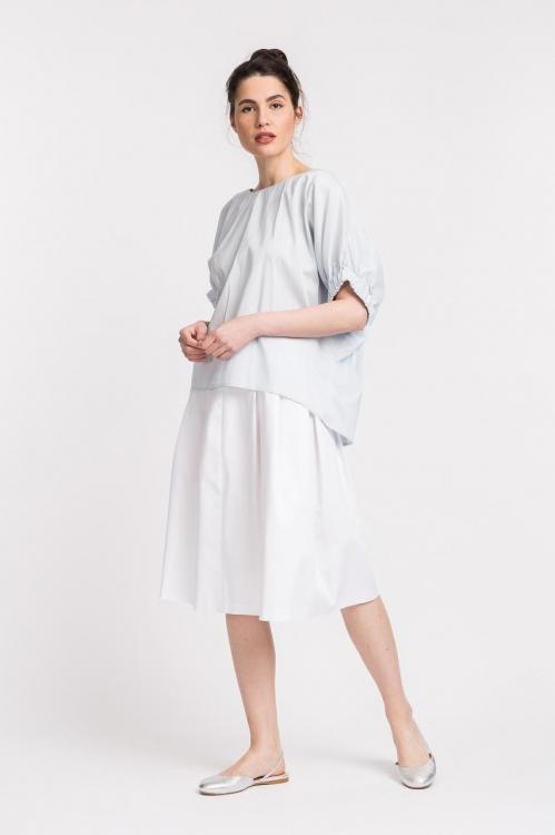 Bluza cu elastic la maneci 5699