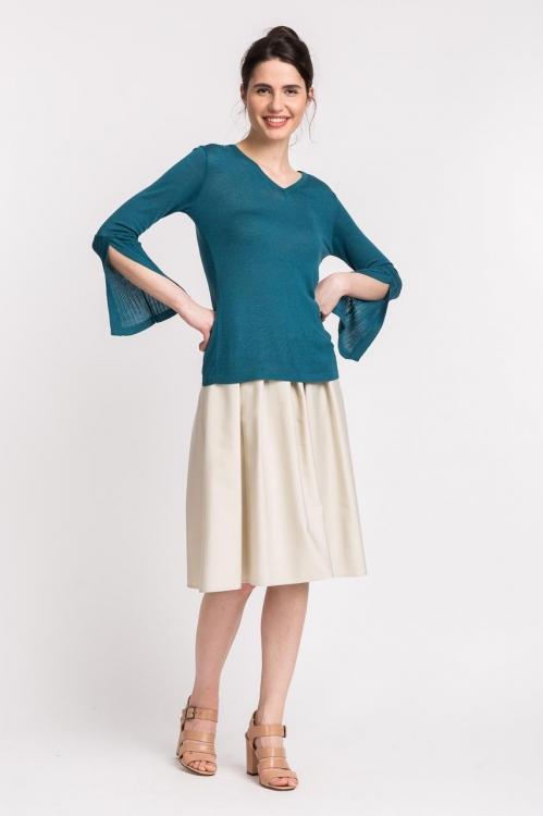 Bluza verde 6029