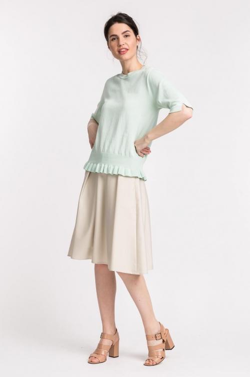 Bluza vernil tricotata 5563VX