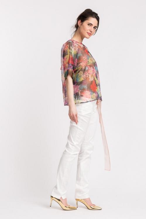 Bluza cu imprimeu floral 6178