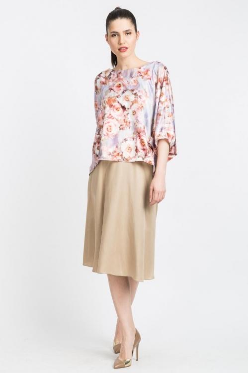 Bluza cu imprimeu floral 5683W