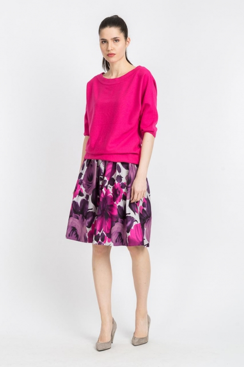 Bluza Ciclam tricot 6090