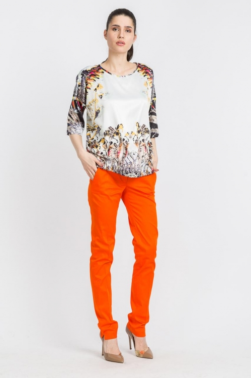 Bluza cu elastic 5691F