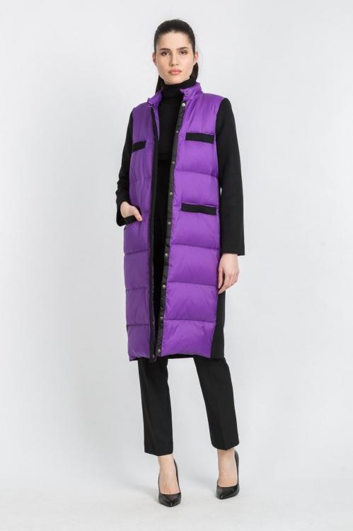Jacheta lunga lila 6000