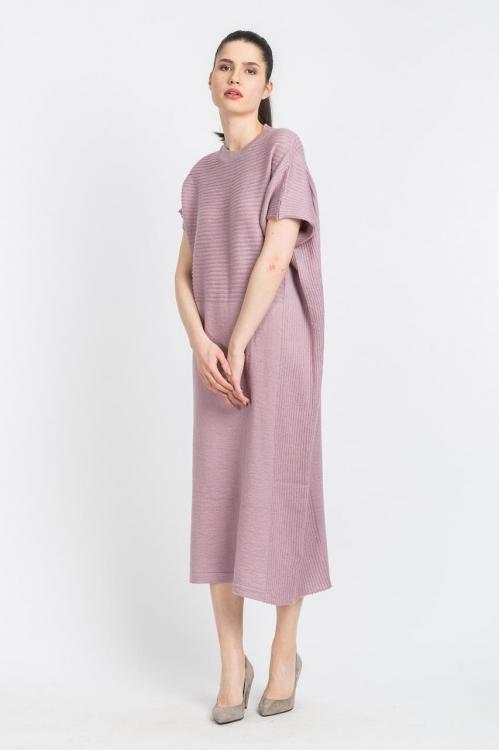 Rochie tricot lila 6118
