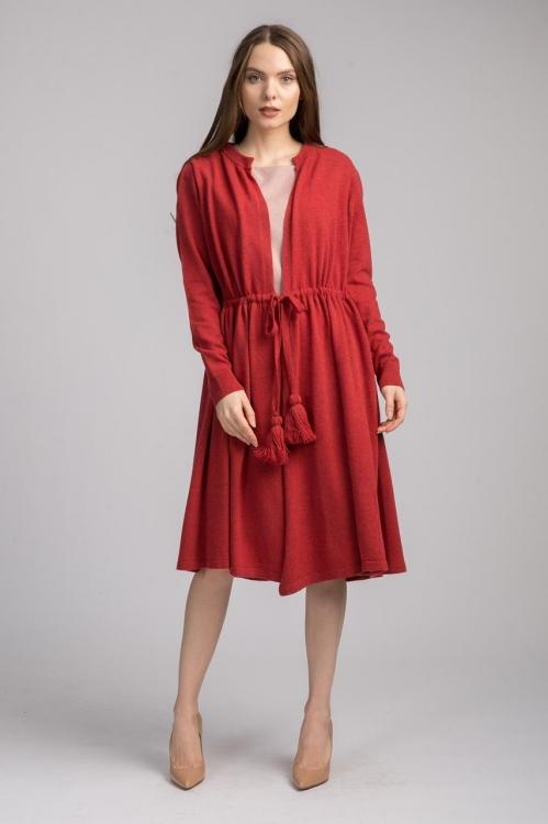 Jacheta de lana cu cordon 5803