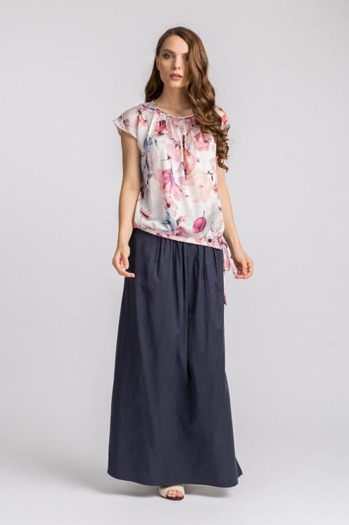 Bluza cu imprimeu floral 5611M