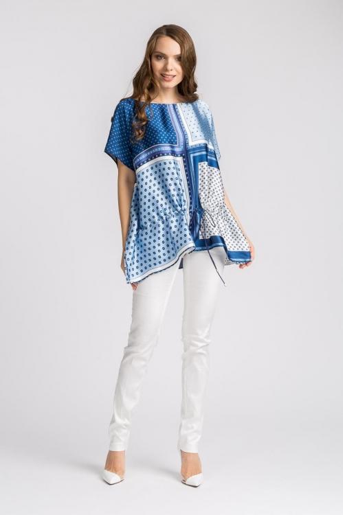 Bluza lejera cu imprimeu 5633V