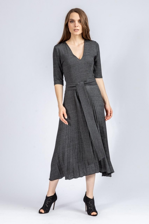 Rochie cu pliseuri 6436