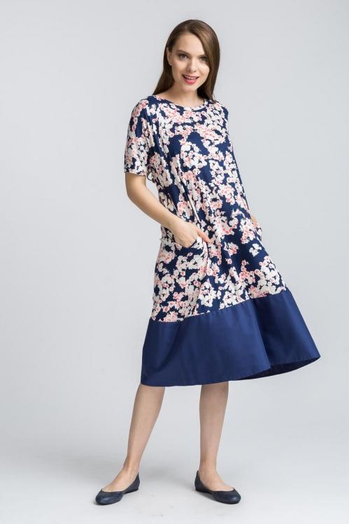 Rochie cu imprimeu floral 6199