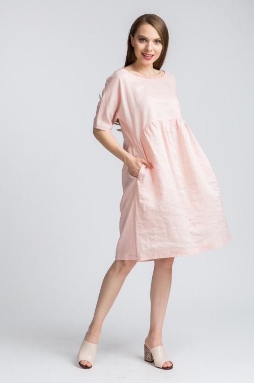 Rochie lejera roz in 5732V