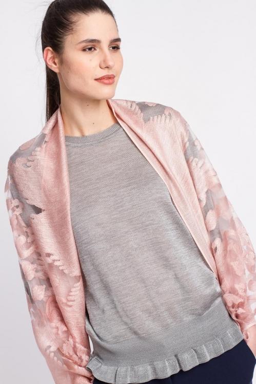 Esarfa roz 6113