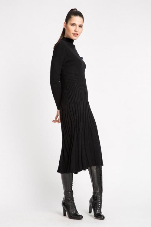 Rochie neagra cu accesoriu 5820S