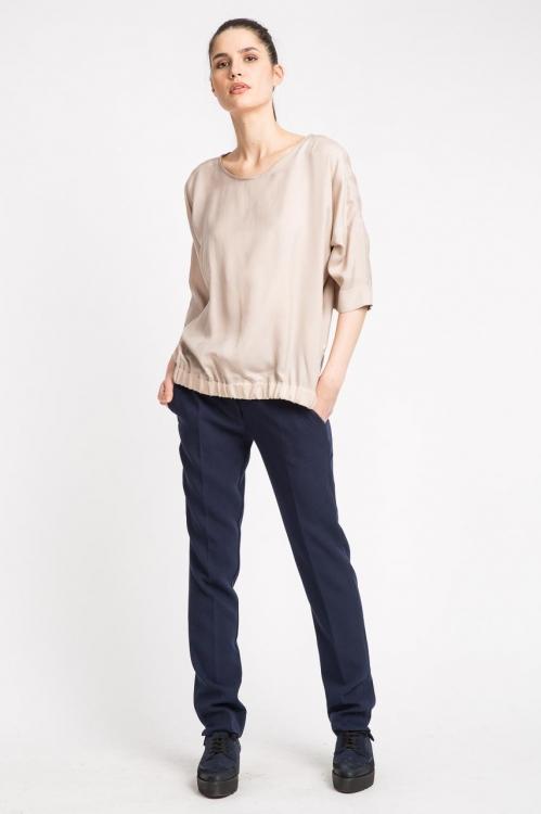 Bluza cu elastic in talie 5691