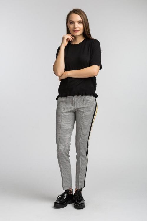 Bluza neagra tricotata 5563W