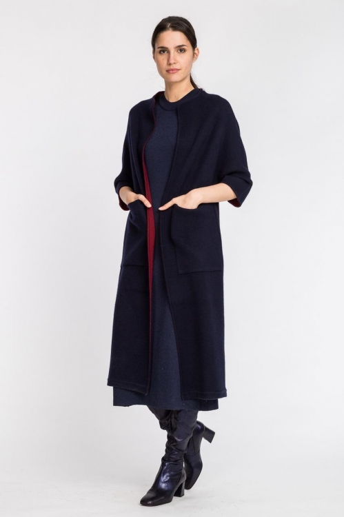 Jacheta lunga din cashmere 5510S