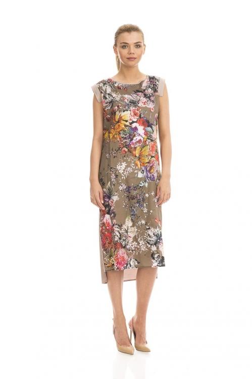 Rochie cu imprimeu floral 5396V
