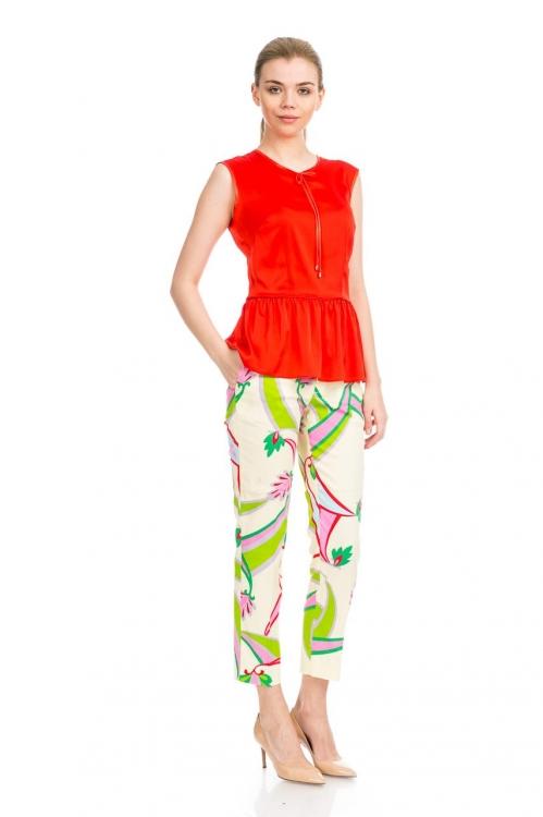 Pantalon cu imprimeu 3003S