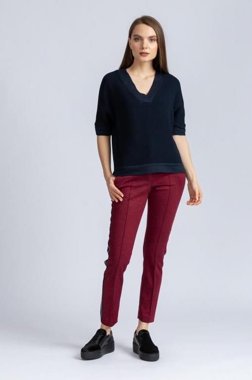 Pantalon cu vipusca 6216B