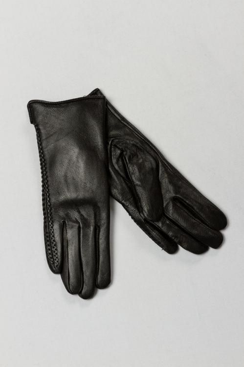 Manusi din piele negre 6258